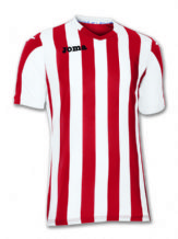 Copa Red/White Short Sleeve Shirt